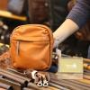 Túi da nam đeo chéo mini gọn gàng tiện lợi KT171