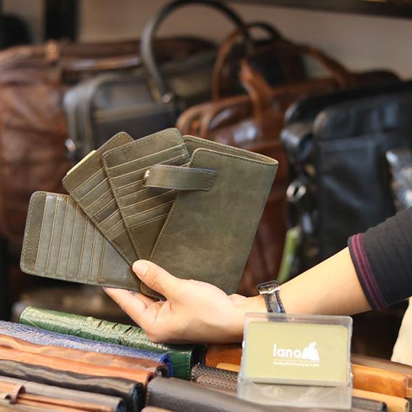 Ví đựng thẻ da bò nhập khẩu thời trang tiện lợi VDN072