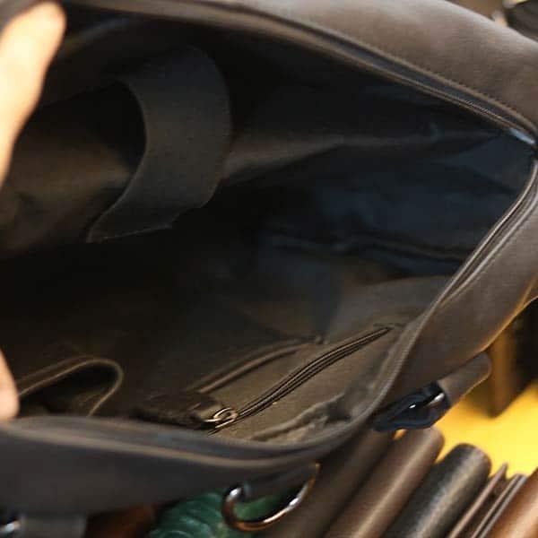 Túi trống du lịch da bò thật thời trang gọn nhẹ TT24