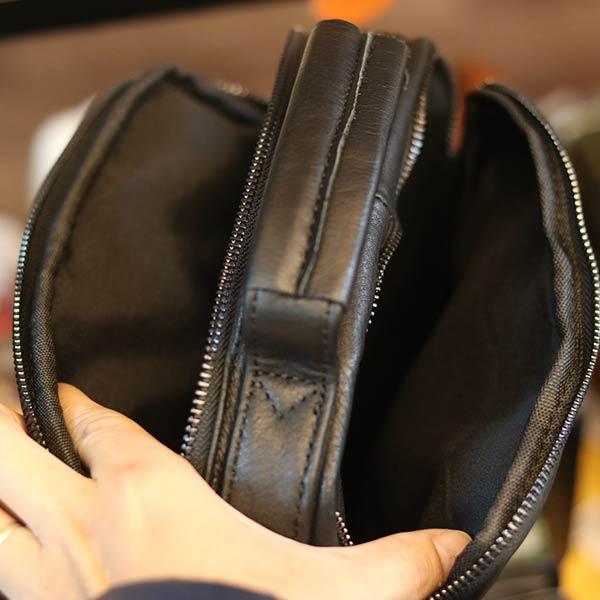 Túi xách nam da bò kết hợp đeo chéo tiện lợi KT178