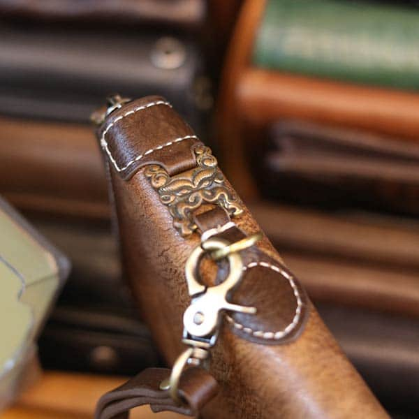 Ví dài nam da bò cầm tay sang trọng lịch lãm từ da nhập khẩu VCTN072