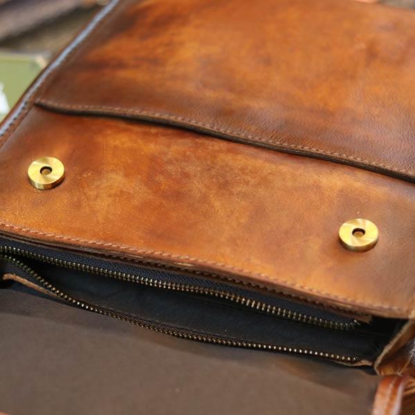 Túi đeo chéo nam da bò dạng hộp khỏe khoắn nam tính KT183