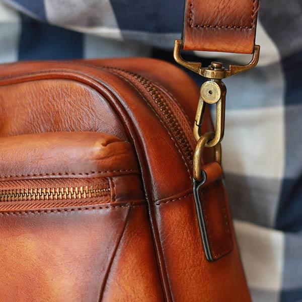 Túi đeo chéo nam da bò cao cấp mẫu mới 2020 KT184