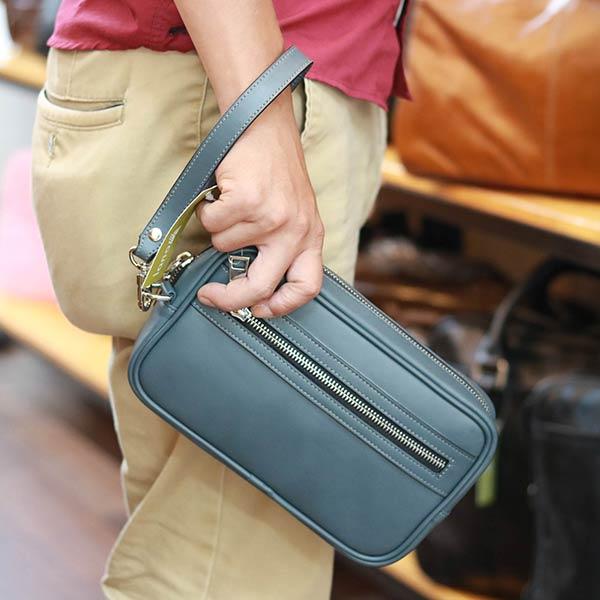 Túi Clutch cầm tay da bò cao cấp độc quyền chỉ có tại Lano CLT48