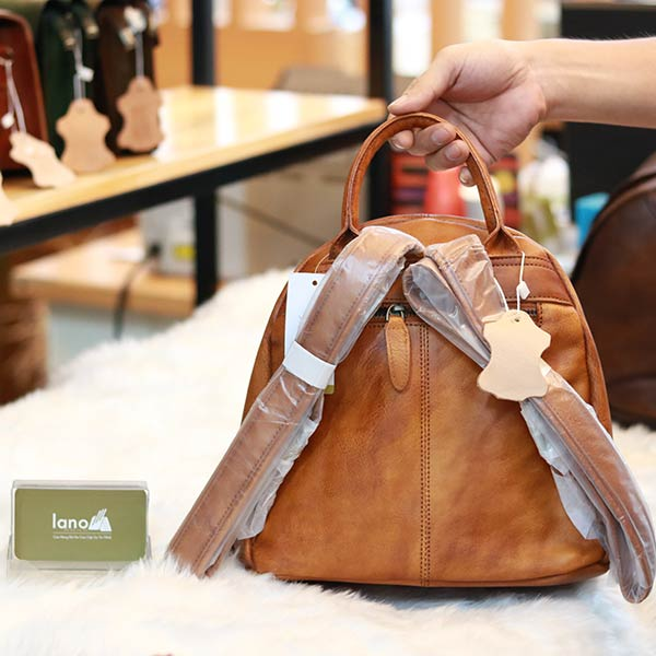 Balo da nữ thời trang phong cách vintage Lano BLNU04