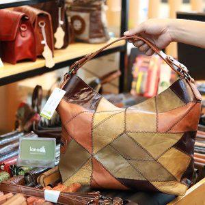 Túi xách da nữ thời trang phong cách mới Lano TXN038