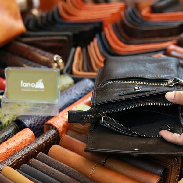 Túi đeo thắt lưng kết hợp đeo chéo da thật cao cấp Lano KT194