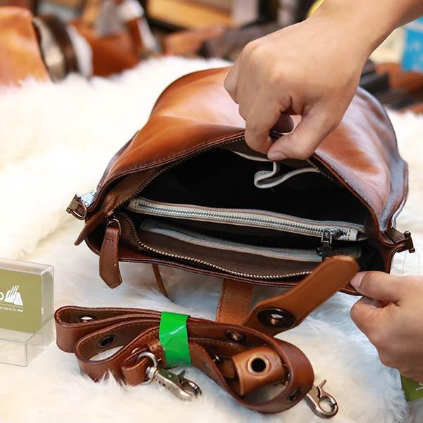 Túi tote da thật tinh xảo cho nàng vẻ đẹp cuốn hút Lano TXN049